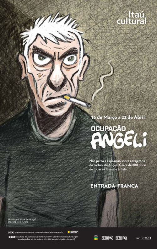 Programa Ocupação expõe o universo do cartunista Angeli Ocupac3a7c3a3o_angeli